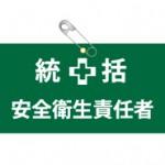 ビニールレザー製腕章(統括安全衛生責任者)